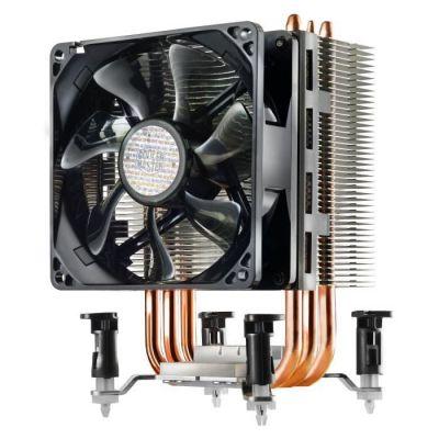 image produit Cooler Master Hyper TX3 EVO - Système de refroidissement, compact et efficace, 3 caloducs à contact direct, ventilateur processeur PWM de 92 mm - livrable en France