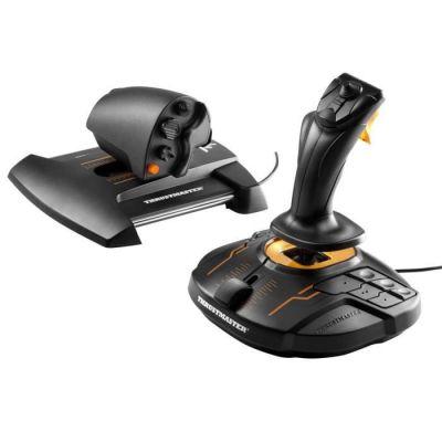 image Thrustmaster T-16000M FCS HOTAS joystick et manette des gaz compatible PC