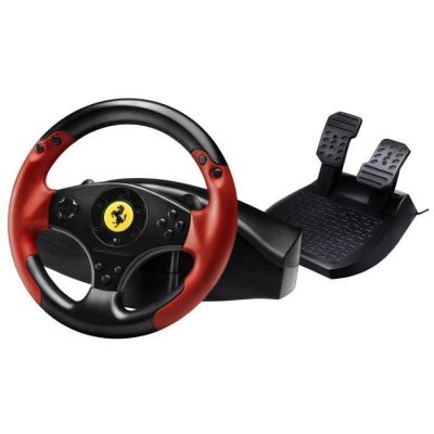 image Thrustmaster Ferrari Racing Wheel Red Legend Edition compatible PC / PS3