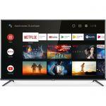 TCL 55EP660 TV LED 4K UHD - 55- (139cm) - 4K HDR - Android TV - finition métal - 3 x HDMI - 2 x USB - Classe énergétique A+