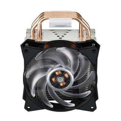 image Cooler Master MasterAir MA410P RGB Ventilateurs de processeur '4 Heatpipes, 1 x MasterFan AB 120 RGB Ventilateur, LED RGB' MAP-T4PN-220PC-R1