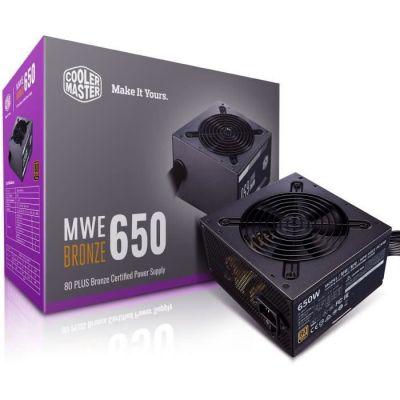 image Cooler Master Mwe 650 Bronze-V2, 80 Plus Bronze Alimentation, 650 Watt