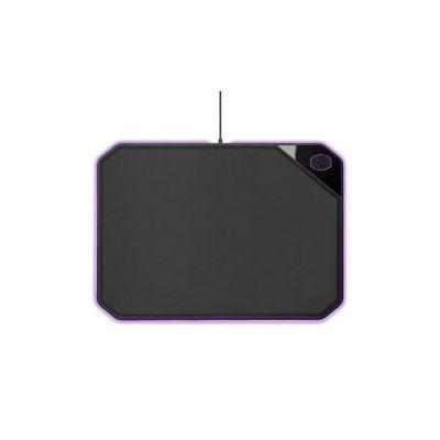 Cooler Master - MP860 - Tapis De Souris Gaming Rigide Double Face RGB (360 x 260 x 6 mm) Faces Tissu & Aluminium - Noir