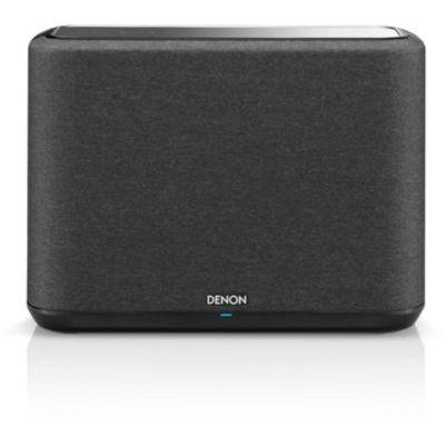 image Denon Home 150 Haut-Parleur multiroom HiFi avec HEOS intégré, Wi-FI, Bluetooth, USB, AirPlay 2, Audio Haute résolution, Compatible Alexa Home 250. Noir
