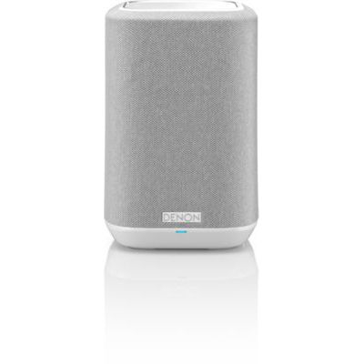 image produit Denon Home 150 Haut-Parleur multiroom HiFi avec HEOS intégré, Wi-FI, Bluetooth, USB, AirPlay 2, Audio Haute résolution, Compatible Alexa Home 150. Blanc. - livrable en France