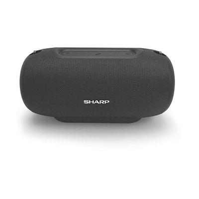 image SHARP GX-BT480(BK) Enceinte Portable Bluetooth IP54 étanche 20 Heures d'autonomie Noir