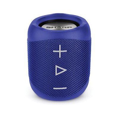image SHARP GX-BT180(BL) Enceinte Portable Bluetooth IP56 étanche 10 Heures d'autonomie Bleu