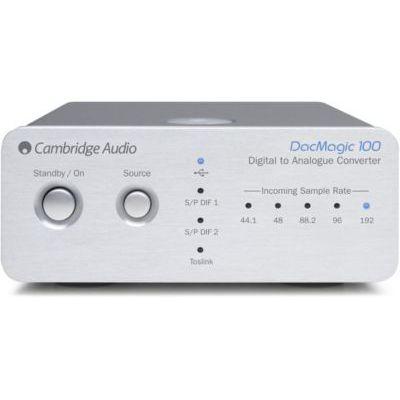 image Cambridge Audio DacMagic 100 Convertisseur audio Argent