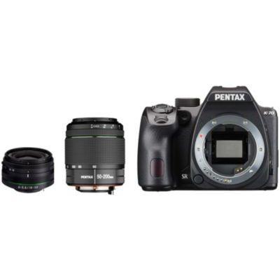 image Appareil photo Reflex Pentax K-70 + 18-50mm RE + 50-200mm