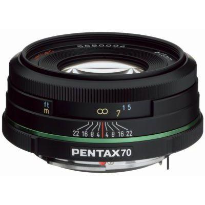 image Objectif Pentax HD DA 70mm f/2.4 noir Limited