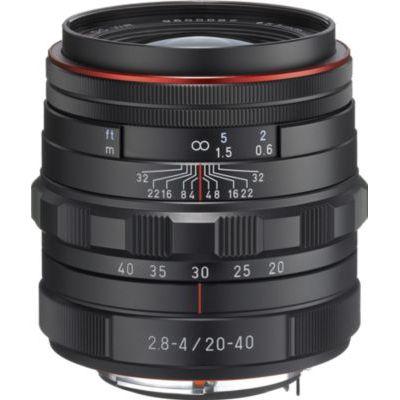image Objectif pour Reflex Pentax HD DA 20-40mm f/2.8-4 noir ED DC WR Ltd