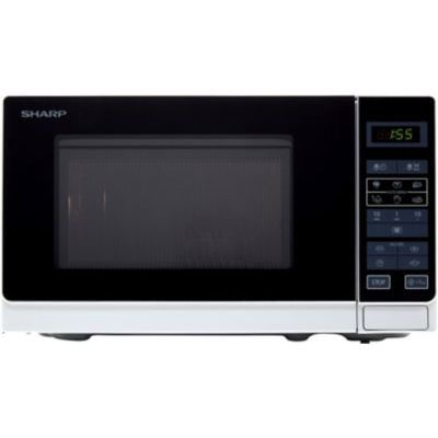 image Sharp R-242INW Micro-ondes Solo 20 litres - Argent