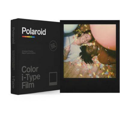 image Polaroid - 6019 - Films instantanés Couleur pour i-Type - Black Frame Edition