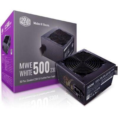 image Cooler Master MWE 500 White-V2, 500W 80 Plus Alimentation, MPE-5001-ACABW-EU