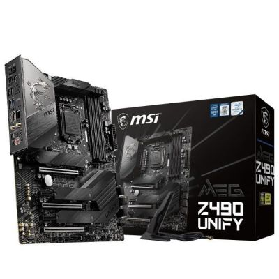 image MSI MEG Z490 Unify, Intel Z490 Mainboard - Sockel 1200