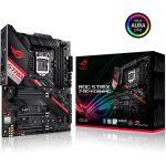 image produit ROG STRIX Z490-H GAMING – Carte mère Intel Z490 LGA 1200, ATX, 14 phases d'alimentation, DDR4 4600, Ethernet Intel 2.5 Gb, USB 3.2 Gén.2, SATA et éclairage RGB Aura Sync - livrable en France