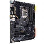 image produit ASUS TUF GAMING Z490-PLUS (Wi-Fi) – Carte mère Intel Z490 LGA 1200 ATX, M.2, 14 phases DrMOS, DDR4 4600, Wi-Fi 6 Intel , 1Gb LAN, HDMI, DP, USB 3.2 Gén. 2 Type-A/C, Thunderbolt 3, Aura Sync RGB