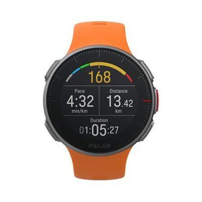 image Polar Vantage V – Montre de Sport FC/GPS Premium pour Hommes et Femmes avec Batterie Très Longue Durée – Entraénement Multisport et Triathlon (Cardiofréquencemètre, étanche)