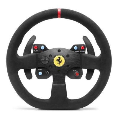 image Thrustmaster Ferrari 599XX EVO 30 Alcantara Wheel Add-On compatible avec l'ensemble des bases Thrustmaster T-Series
