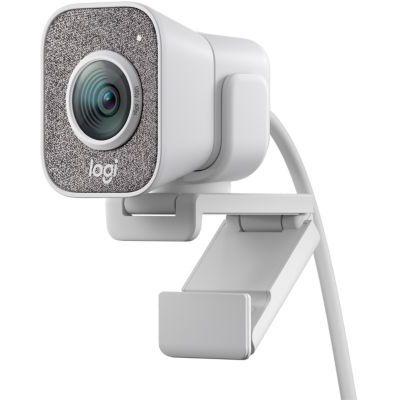image Logitech Streamcam Webcam avec USB-C Pour Le Streaming Et La Création De Contenu, Vidéo Verticale Full HD 1080p, Double Fixation De La Caméra, pour YouTube, Gaming Twitch, PC/Mac - Blanc