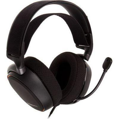 image SteelSeries Arctis Pro GameDAC - Casque Gaming - Audio Haute Résolution certifié - ESS Sabre DAC-Noir