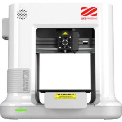 image XYZ PRINTING 3FM3WXEU00C - Imprimante 3D Da Vinci MINI W+ - Blanche - L'impression 3D rendue facile - Câble USB 2.0 - WiFi