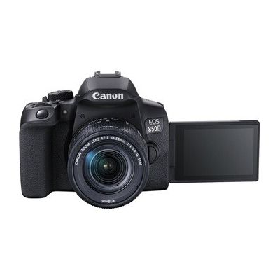 image Appareil photo Reflex Canon EOS 850D + EF-S 18-55mm f4-5.6 IS STM