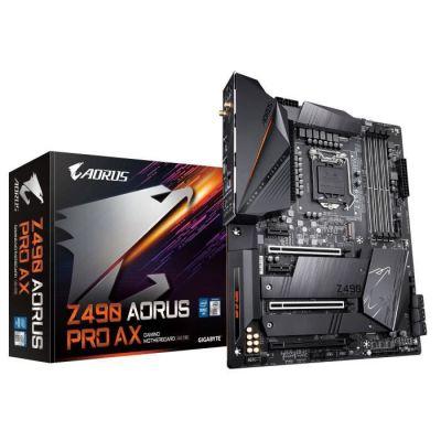 image Gigabyte Z490 Aorus Pro AX, Intel Z490 Mainboard - Sockel 1200