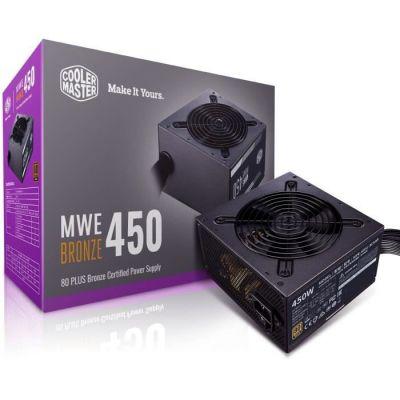 image Cooler Master Mwe 450 Bronze-V2, 80 Plus Bronze Alimentation, 450 Watt