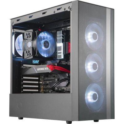 image Cooler Master MasterBox NR600 Compatible ATX MB, Ventilation grillagée Frontale et Panneau latéral en Verre trempé