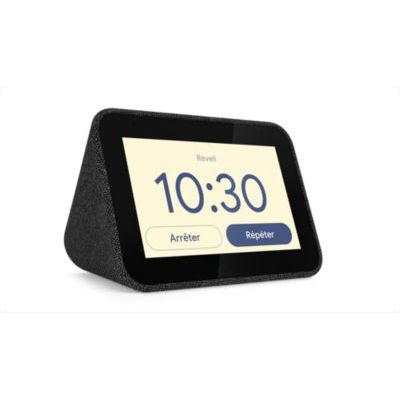 image Assistant vocal Lenovo Smart Clock Charbon