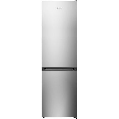 image Hisense RB438N4EC2 Intégré 334L A++ Acier inoxydable réfrigérateur-congélateur - Réfrigérateurs-congélateurs (334 L, SN-T, 12 kg/24h, A++, Nouvelle zone compartiment, Acier inoxydable)