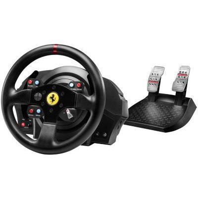 image Thrustmaster T300 Ferrari GTE Volant + Pédalier pour PS3/PS4 Noir