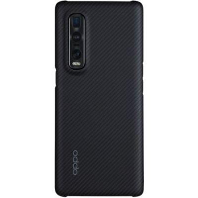 image Coque Oppo Find X2 Pro kevlar noir