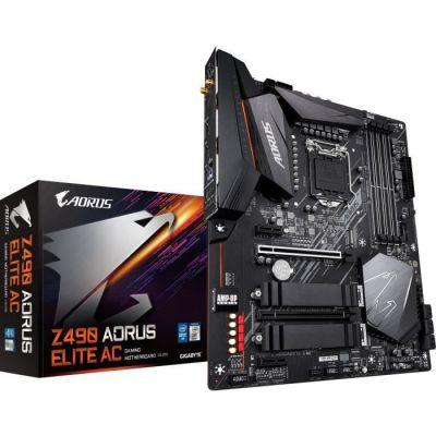 image Gigabyte Z490 Aorus Elite AC, Intel Z490 Mainboard - Sockel 1200