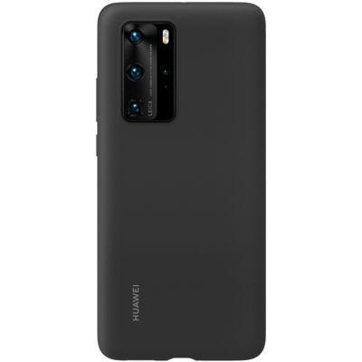 image HUAWEI Coque en Silicone pour Huawei P40 Pro Noir