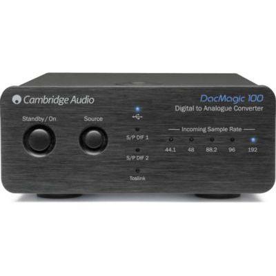 image Cambridge Audio DacMagic 100 Convertisseur audio Noir