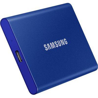 image SAMSUNG T7 1 To USB 3.2 SSD externe bleu - MU-PC1T0H/WW