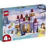 image produit LEGO-La fête d'hiver dans Le château de Belle Disney Princess Jeux de Construction, 43180, Multicolore - livrable en France