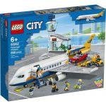 image produit LEGO- L'avion de passagers City Jeux de Construction, 60262, Multicolore - livrable en France