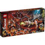 image produit LEGO-Le Dragon du Sorcier au Crâne Ninjago Jeux de Construction, 71721, Multicolore - livrable en France