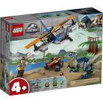 image produit LEGO- Vélociraptor : la Mission de Sauvetage en Avion Jurassic World Jeux de Construction, 75942, Multicolore - livrable en France