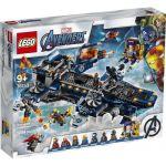 image produit LEGO- L'héliporteur des Avengers Marvel Super Heroes Jeux de Construction, 76153, Multicolore - livrable en France