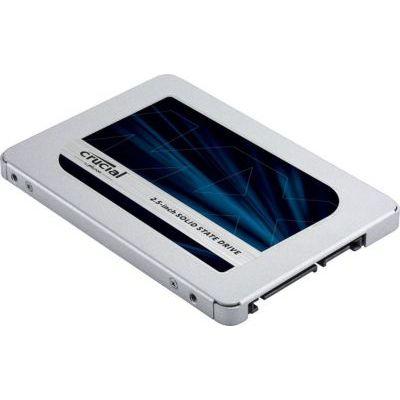 image Crucial 250Go CT250MX500SSD1 SSD interne MX500-jusqu'à 560 Mo/s (3D NAND, SATA, 2,5 pouces)