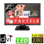 """image produit ViewSonic TD2220-2 Moniteur à écran Tactile 22"""" Full HD1920x1080 Pixels, 2 points Touch, 5 ms, 200 CD/m², VGA, DVI, Noir - livrable en France"""