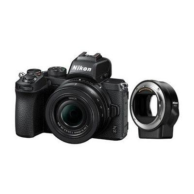 image Nikon Hybride Z50 + objectif Z DX 16-50mm f/3.5-6.3 VR + bague d'adaptation FTZ