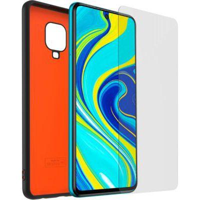image Pack Coque TPU, Verre trempé Xiaomi Note9 Pro N