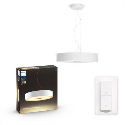 image Philips Lighting 8718696175118 Suspension, Verre, Blanc