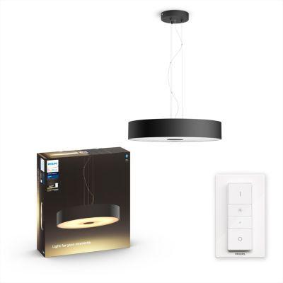 image Philips Lighting 8718696175125 Suspension, Verre, Noir