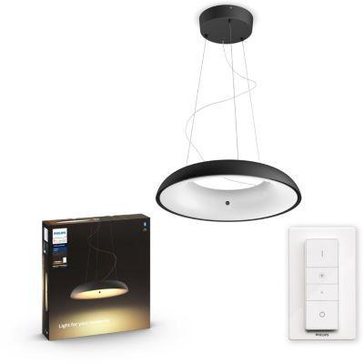 image Philips Lighting 8718696175163 Suspension, Plastique, Noir